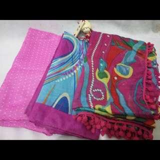 Jilbab pink series