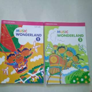 Yamaha music wonderland books