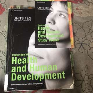 Cambridge Health And Human Development Unit 1 And 2