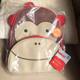 Skip Hop Zoo Pack Kid Backpack Monkey