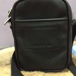Lacoste Sling Bag - Black
