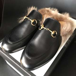 Gucci Loafers 36 Black