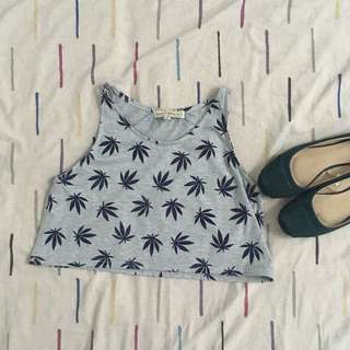 Authentic H&M Sleeveless Cropped Top