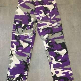 🚚 Rothco 紫迷彩褲