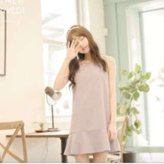 🚚 Lovfee 粉紫 魚尾洋裝 #我的女裝可超取