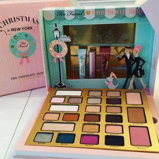 Too Faced Christmas In New York The Chocolate Shop Makeup Set BRAND NEW & AUTHENTIC (NO OFFERS) LAST ONE