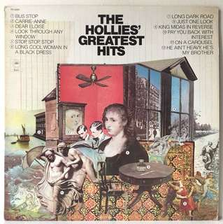 The Hollies – The Hollies' Greatest Hits (1979 US Reissue - Vinyl is Mint)