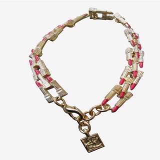 Vintage Estée Lauder lipstick bracelet