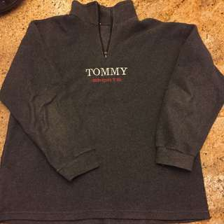 bootleg Tommy Sports fleece
