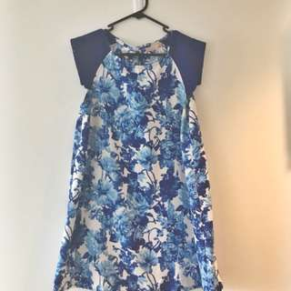 🦋 pretty blue floral dress 🦋