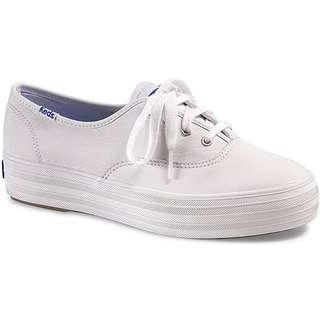 Authentic KEDS Triple Leather White