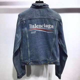Balenciaga Bernie Denim Jacket