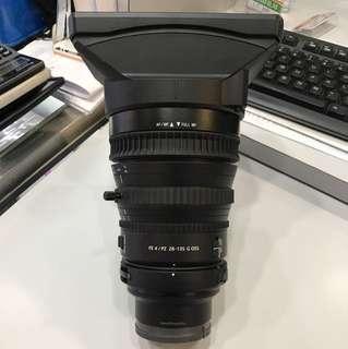 Sony 28-135mm F4 PZ OSS G lens