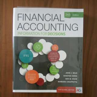 ACC1701 NUS Financial Accounting Information For Decisions Winston Kwok