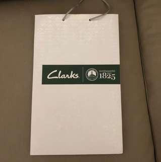 Clarks paper bag
