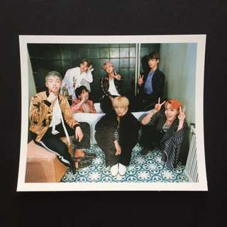 [WTS] BTS WINGS ALBUM PHOTOCARD (GROUP)