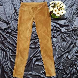 June and Daisy Brown Culdoroy Skinny Pants