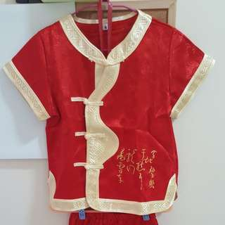 CNY Costume (Wear Once Only)