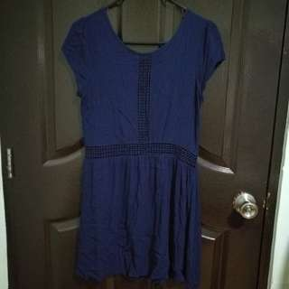 Factorie Dress Navy blue