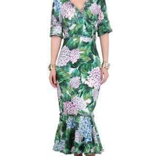 D&G Print Dress