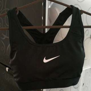 100%Authentic Nike Dri-Fit Women Sport Bra in Black (S )
