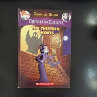 Geronimo Stilton Thirteen Ghosts