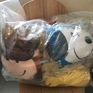 Snoopy & Friends Cushion Set 史諾比咕𠱸套裝