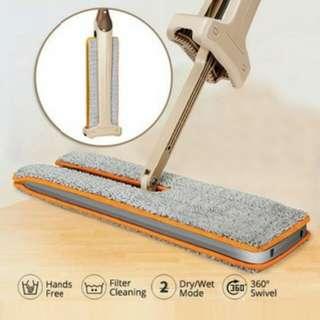 Lap Pel Lantai  Inovasi Terbaru Double Sided Lazy Mop