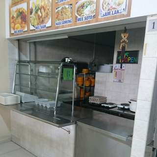 Nasi Lemak Stall for Rental