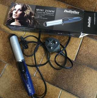 Hair curler babyliss mini 25mm