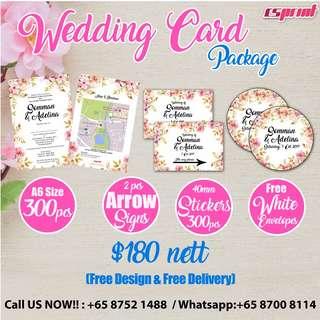 Wedding Card Package!