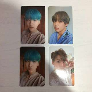 [HAPPY HOUR] BTS LOVE YOURSELF PHOTOCARDS