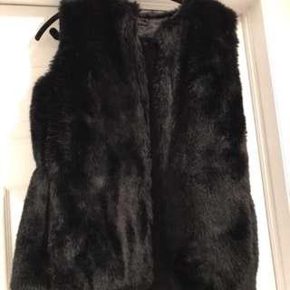 Brand new with tags aldo fur vest, has pockets