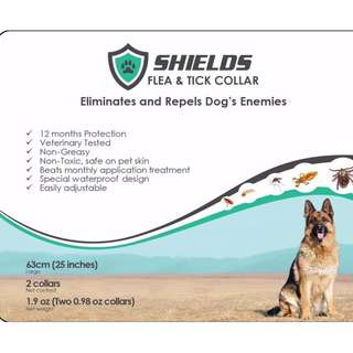 Shields Anti-Flea & Tick Collar Large