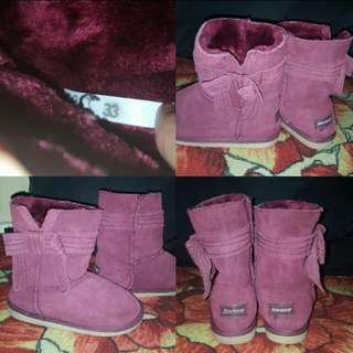 Boots size 33