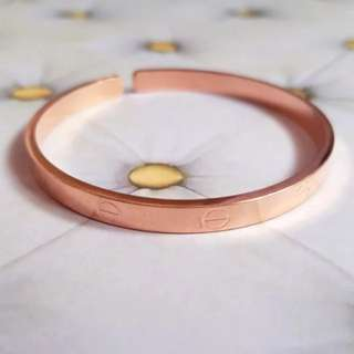 🆕️Cartier Inspired Love Screw Bangle Bracelet - Rose Gold