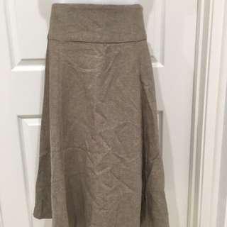 Brand new light chocolate skirt Size 8