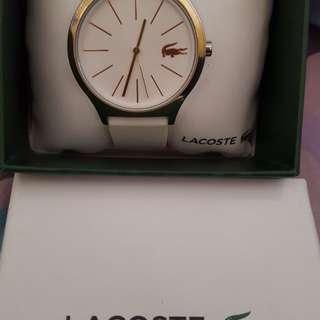Lacoste Nikita Women's White Silicon Strap Watch