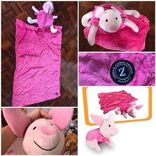 Zoobies Disney blanket- Piglet