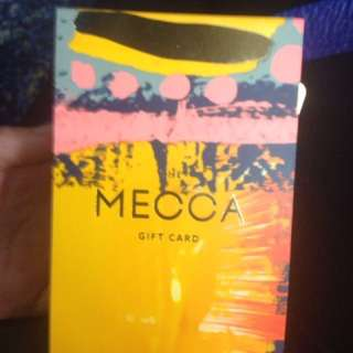 $60 MECCA GIFT CARD BOX