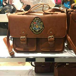 Exclusive Harry potter brown leather vintage bag