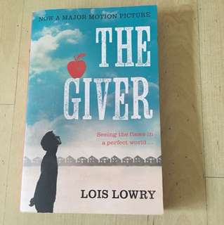 The Giver by Lois Lowry (Literature Novel for Sec 1)