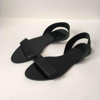 Zara strappy sandals 37 6.5