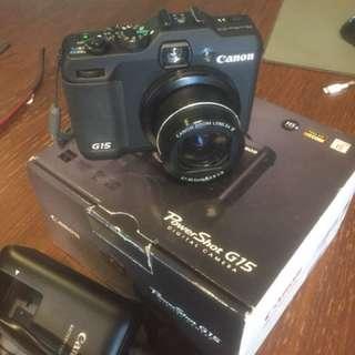 Canon G15 Powershot