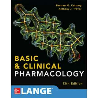 Basic & Clinical Pharmacology 13th Edition by Katzung, Trevor