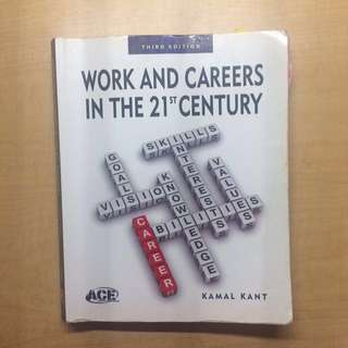 Work and Careers in the 21st Century Third Edition Kamal Kant