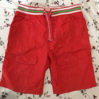 Mothercare Boy Red Shorts