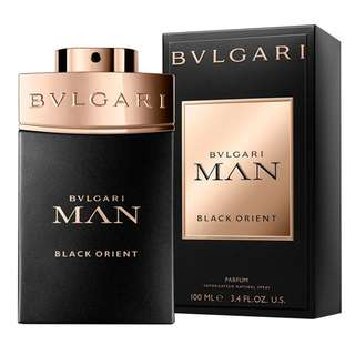 BVLGARI MAN BLACK ORIENT PARFUM FOR MEN (100ml) Bulgari MIB EDP In