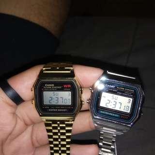 Casio watches!