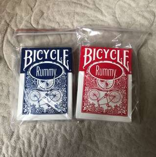 bicycle rummy playing card